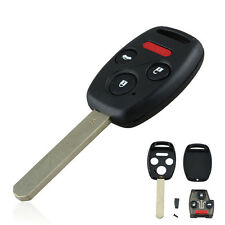 Replace Ignition Chip Car Remote Key Fob 4 Button for OUCG8D-380H-A Honda Accord