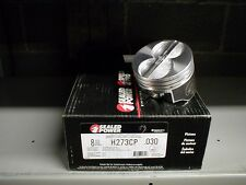 FORD 289 302 CAST PISTONS   H273CP +30 HYPEREUTECTIC