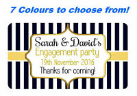 40 PERSONALISED,MINT TO BE STICKERS FOR WEDDING, ENGAGEMENT FAVOUR SWEETS GLOSS