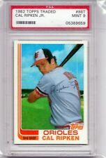 1982 TOPPS TRADED CAL RIPKEN JR #98T PSA 9 MINT BALTIMORE ORIOLES HOF ROOKIE RC