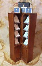 Bespaq/Pat Tyler Dollhouse Miniature Men's Shop W/Shirt Shelf Cabinet p302
