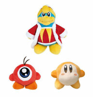 Set of 3 Kirby King Dedede & Waddle Doo & Waddle Dee Plush Doll Stuffed Soft Toy