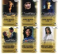 Women of James Bond in Motion MI6 Insert Set MI1 - MI6