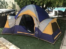 Hillary Hex Dome Camping Tent w/ Two Lockers Sleeps 3-4 12.5'x7.5' Ht:52""