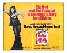 THE OWL AND THE PUSSYCAT Movie POSTER 22x28 Half Sheet Barbra Streisand George