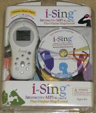 I-Sing Interactive MP3 - Karaoke - Ages 8+ - NEW/SEALED