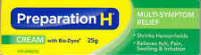 Preparation H Cream With Bio-Dyne, 25g/.88oz - Canadian Formula - Free USA Ship