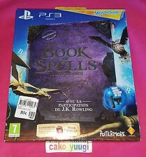 WONDERBOOK : BOOK OF SPELLS LE LIVRE DES SORTS SONY PS3 VERSION 100% FRANCAISE