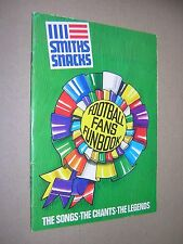 SMITHS SNACKS CRISPS. FOOTBALL FANS FUNBOOK 1975. SONGS. QUIZ. JOKES etc. SOCCER