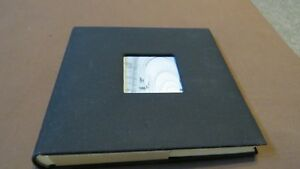 Photo Album New black with picture design holds 4X6 photos slip-in