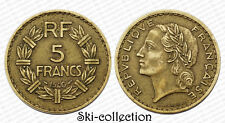 5 Francs 1940. Lavrillier. France. Bronze-Alu