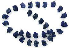 30 Lapis Lazuliu Zuni Bear Fetish Figures Carved Multi Stone Bead Strand LB29