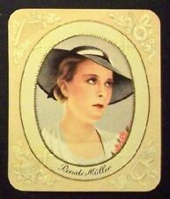 Renate Müller 1934 Garbaty Film Star Series 1 Embossed Cigarette Card #20