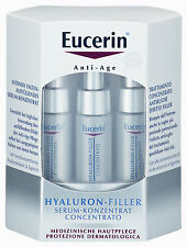 EUCERIN HYALURON FILLER Anti Age Serum Konzentrat 6x5ml PZN 01171175 plus Proben