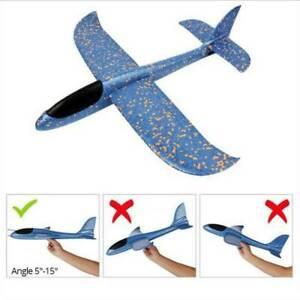 48cm,35cm EPP Foam Hand Throw Airplane Outdoor Launch Glider Plane Kids Toy Gift