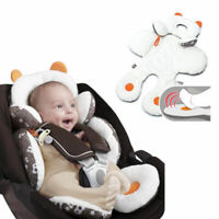 Baby Car Seat Stroller Pram Soft Head Neck Body Support Cushion Pillow Casual~