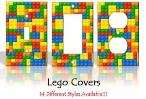 Lego Pieces Puzzle Games Legos Light Switch Covers Home Decor Outlet