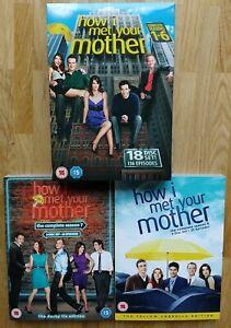 24 DVDs - How I Met Your Mother | Staffel 1 - 8 | Pappschuber