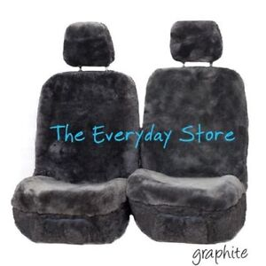 Kia Optima Premium Sheepskin Car Seat Covers Pair Airbag Safe 30MM