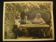 30s Candid John Barrymore And Family Dbw 10x13 Photo By Clarence Bull Os28