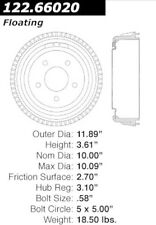 Centric Parts 122.66020 Rear Brake Drum