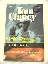NET FORCE FURTO NELLA RETE Tom Clancy Steve Pieczenik Corriere della Sera BUR di