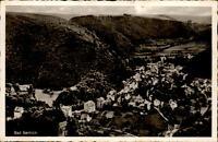 BAD BERTRICH Mosel alte Postkarte 1955 Totalansicht aus der Vogelschau Persp.