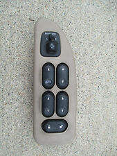 01 - 03 Ford Windstar Driver Left Side Master Power Window Switch Tan (Fits: Ford Windstar)