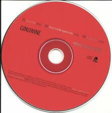 GINUWINE When Doves Cry MIX & EDITS PRINCE Cover Remake PROMO DJ CD single 1997