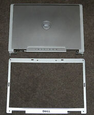 NEW DELL INSPIRON 6400 E1505 LID TOP COVER WITH HINGES WIRES BEZEL UF165 UW737