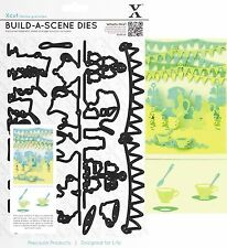 XCUT BUILD A SCENE GARDEN PARTY 9 DIES CUTTING DIE SET UNIVERSAL FIT - NEW