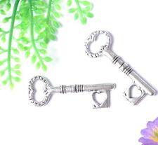 FREE SHIP 10Pcs Tibet Silver Key Charms & Pendants E852