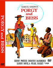 "PORGY AND BESS 1959 - 3 DVD, 1 CD - Movie Poster ""THE ULTIMATE COLLECTION SET"""