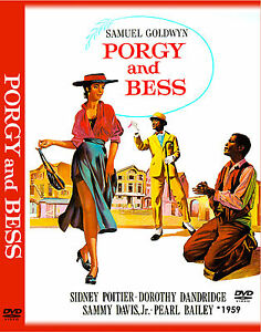 """PORGY AND BESS 1959 - 3 DVD, 1 CD - 11x17 Poster """"THE ULTIMATE COLLECTION SET"""""""