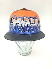Trucker Cap by KB Ethos A-TRAIN Graffiti SNAPBACK Hand Painted Hat