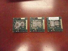 LOT OF 3 Intel Core i3 390M Processor CPU 3M Cache 2.66 GHz SLC25