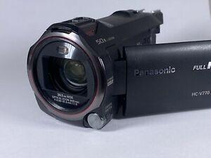Panasonic HC-V770K Full HD Handheld Camcorder