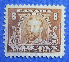 1915 8c CANADA WAR TAX REVENUE VD # FWT12 B # 12 USED                    CS30391