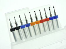 1.5mm 1.55mm 1.65mm 1.75mm 1.85mm Mixed Tungsten Carbide Micro Drill Bits