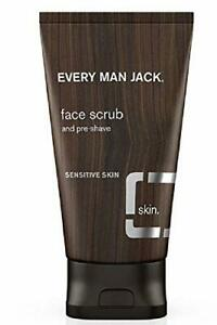 Every Man Jack Face Scrub and Pre-shave Fragrance Free 5 oz