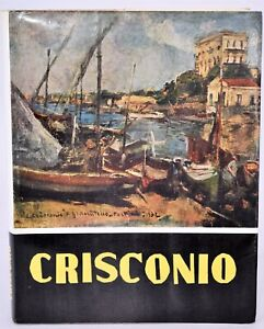 Arte Pittura napoletana - LUIGI CRISCONIO Napoli 1964 Catalogo opere Dipinti