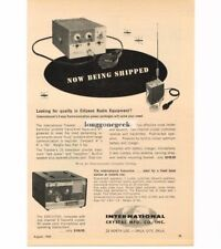 1960 International Crystal Traveller Executive CB Radio Transceiver Vtg Print Ad