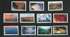 C133 - C143 Scenic National Parks Airmail collection