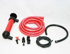 Sifón Sifón Bomba Manual Deluxe Kit extraer petróleo gasolina líquidos combustible diesel 319