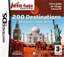 PETIT FUTE  TRAVEL & PLAY  :  200 DESTINATIONS                -----   pour DS