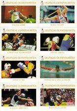 Olympia 1996 Atlanta Deutsche Olympiakarten Sammlung 8 Tradingcard !!