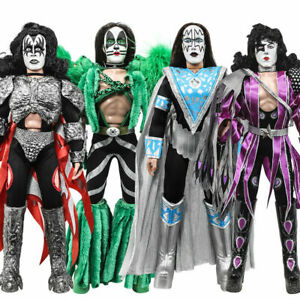 KISS 12 Inch Action Figures Series 8 Dynasty: Set of all 4 [Loose]