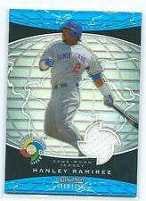 2009 Bowman Sterling-Hanley Ramirez refractor jersey card-World BB Classic