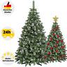 Künstlicher Weihnachtsbaum Kunstbaum Tannenbaum 180-220cm Christbaum Schnee Deko