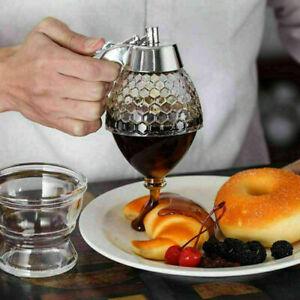 Honig Spender Honigtopf Dosierer Honigbirne Sirup Dosierspender Dispenser